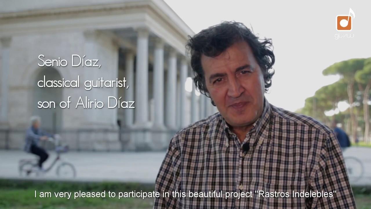 "Senio Díaz on documentary film ""Rastros Indelebles"""